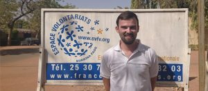Nathan, Volontaire de Solidarité Internationale au Burkina Faso