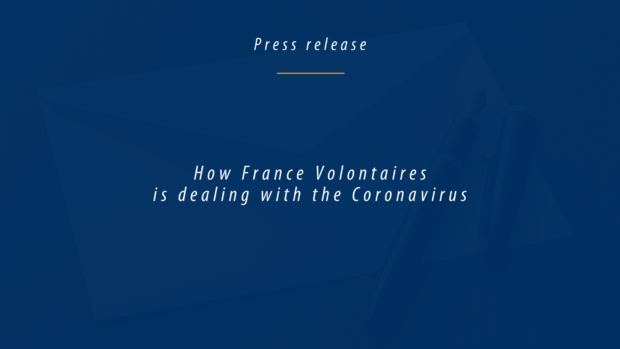 How France Volontaires is dealing with the Coronavirus