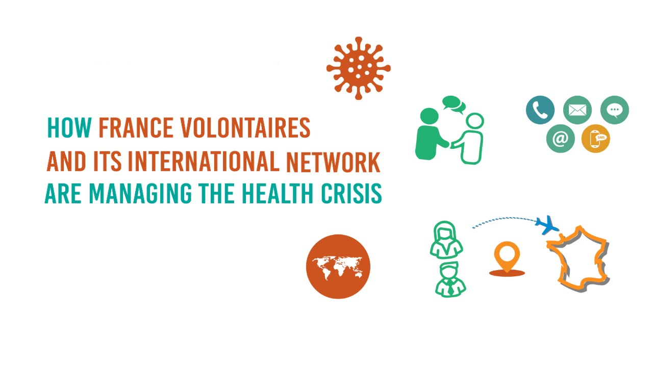 Health Crisis: France Volontaires and its fully mobilized international network