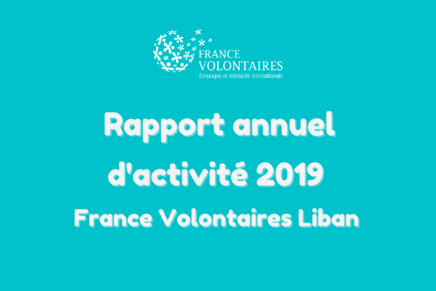 Publication du rapport annuel 2019 de France Volontaires au Liban