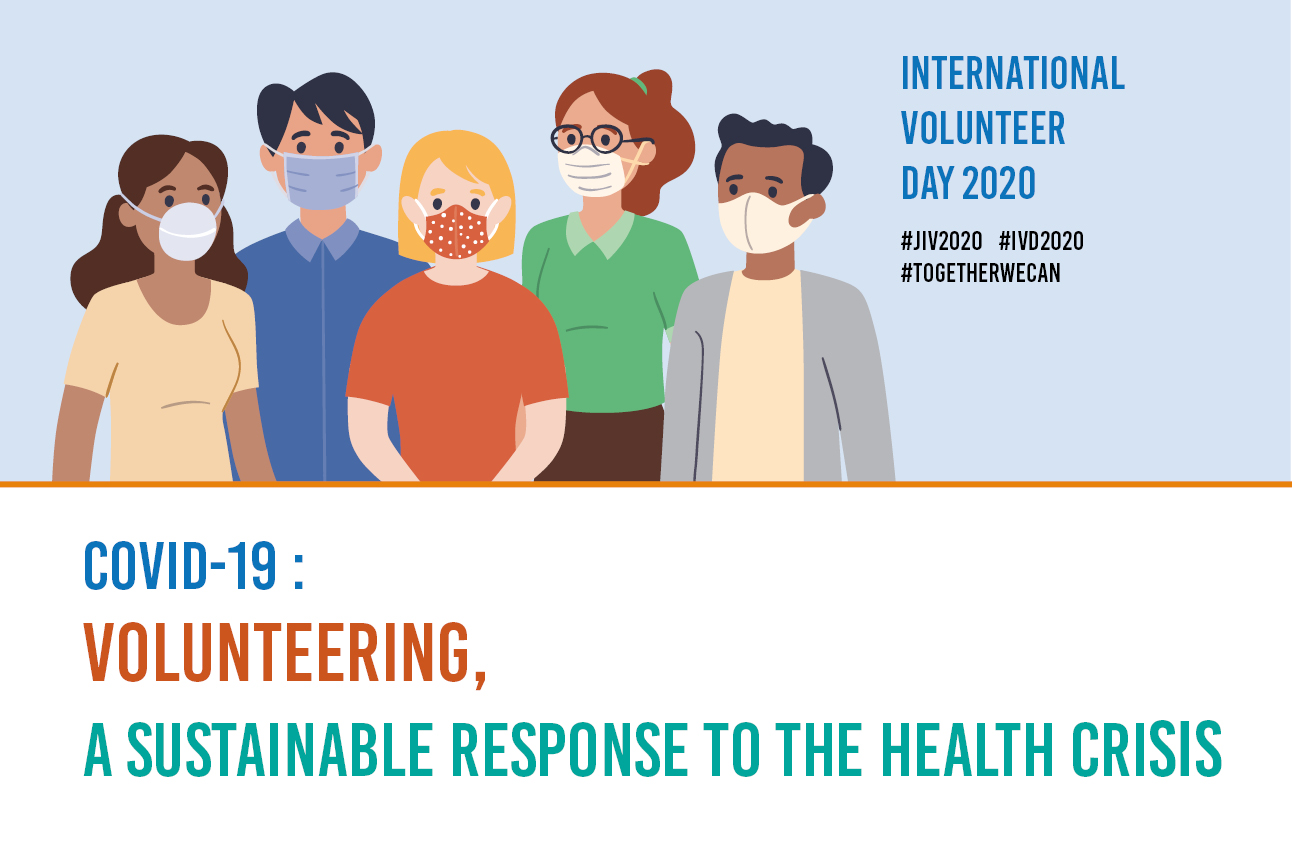 COVID-19: Volunteering — a sustainable response to the health crisis